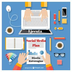 Diseña y ejecuta estrategias Social Media